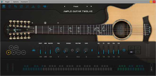 Ample Guitar Twelve III v3.0.0 WiN | Images From Magesy® R Evolution™