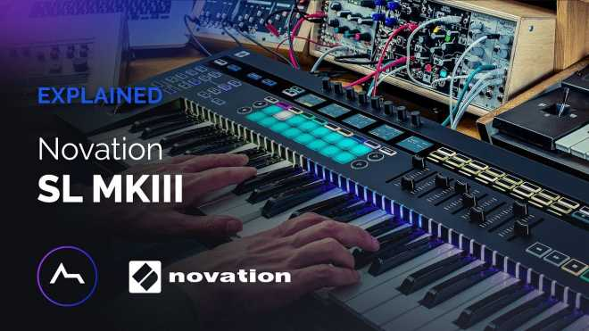Novation SL MkIII Explained TUTORiAL | Images From Magesy® R Evolution™