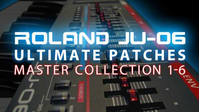 JU 06 Patches MASTER COLLECTiON Vol.1 6 PRM | Images From Magesy® R Evolution™
