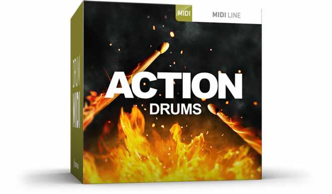 Action Drums MiDi WiN MAC   Images From Magesy® R Evolution™