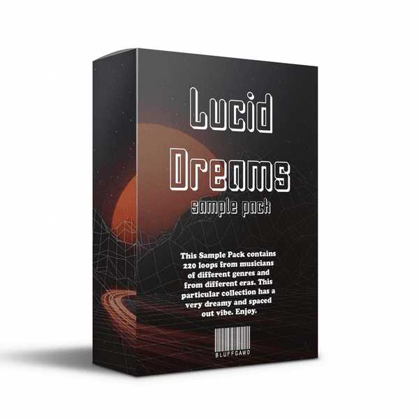 Lucid Dreams Sample Pack WAV AiFF | Images From Magesy® R Evolution™