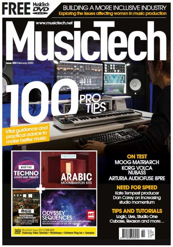 MusicTech Issue 203 February 2020 | Images From Magesy® R Evolution™