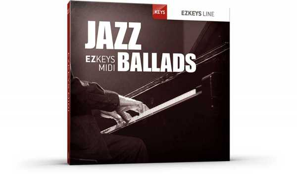 Jazz Ballads EZkeys MiDi MAC | Images From Magesy® R Evolution™