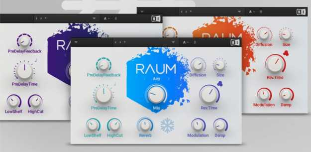 Raum v1.0.0 AAX VST WiN x64 R2R | Images From Magesy® R Evolution™